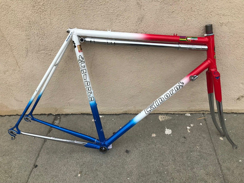 54cm Calborn Lugged Steel Frameset Columbus SLX Made By Colnago