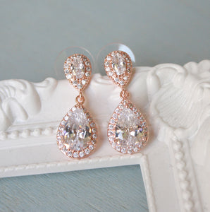 Rose Gold Dropped Earring - BCW accessories