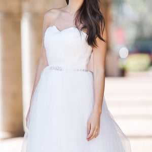 White Bridal Dress