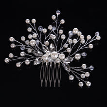 Load image into Gallery viewer, Bridal Pearl Lover Comb - BCW accessories