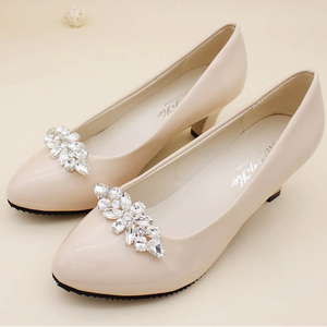 Shoes Clip Accessories Crystal