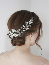 Load image into Gallery viewer, Bridal Crystal Headpiece, Rhinestone, Bridal hair accessory, Silver Rhinestone, Wedding accessory, Bridal accessory,Hair accessory, headband - BCW accessories