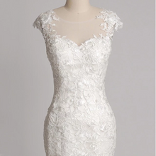 Load image into Gallery viewer, Modern Lace Mermaid Wedding Dress