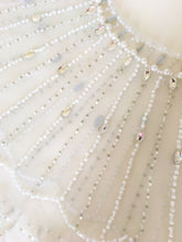 Load image into Gallery viewer, Bridal Crystal And Pearl Beaded Bolero - BCW accessories
