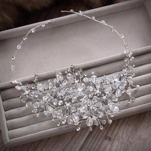 Load image into Gallery viewer, Rhinestone beads hairbands wedding bridal rhinestone hair accessory