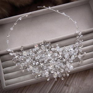 Rhinestone beads hairbands wedding bridal rhinestone hair accessory