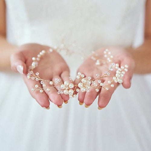 Bridal Pearl Wedding Headband