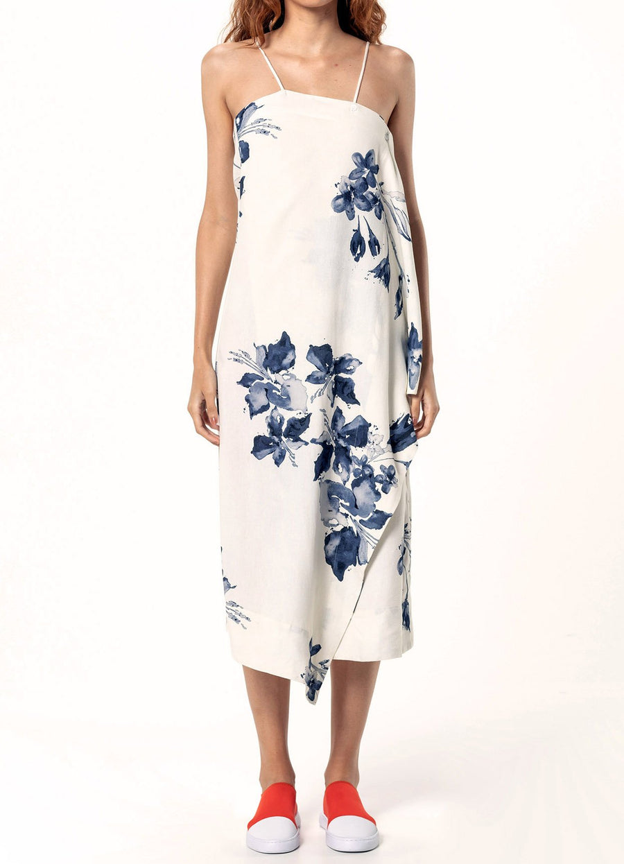 Isis Water Flower Dress - South of London