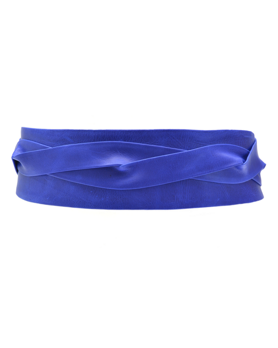 Electric Blue Wrap Belt - South of London