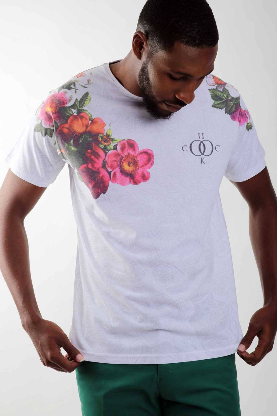 Floral Carnival Tee - South of London
