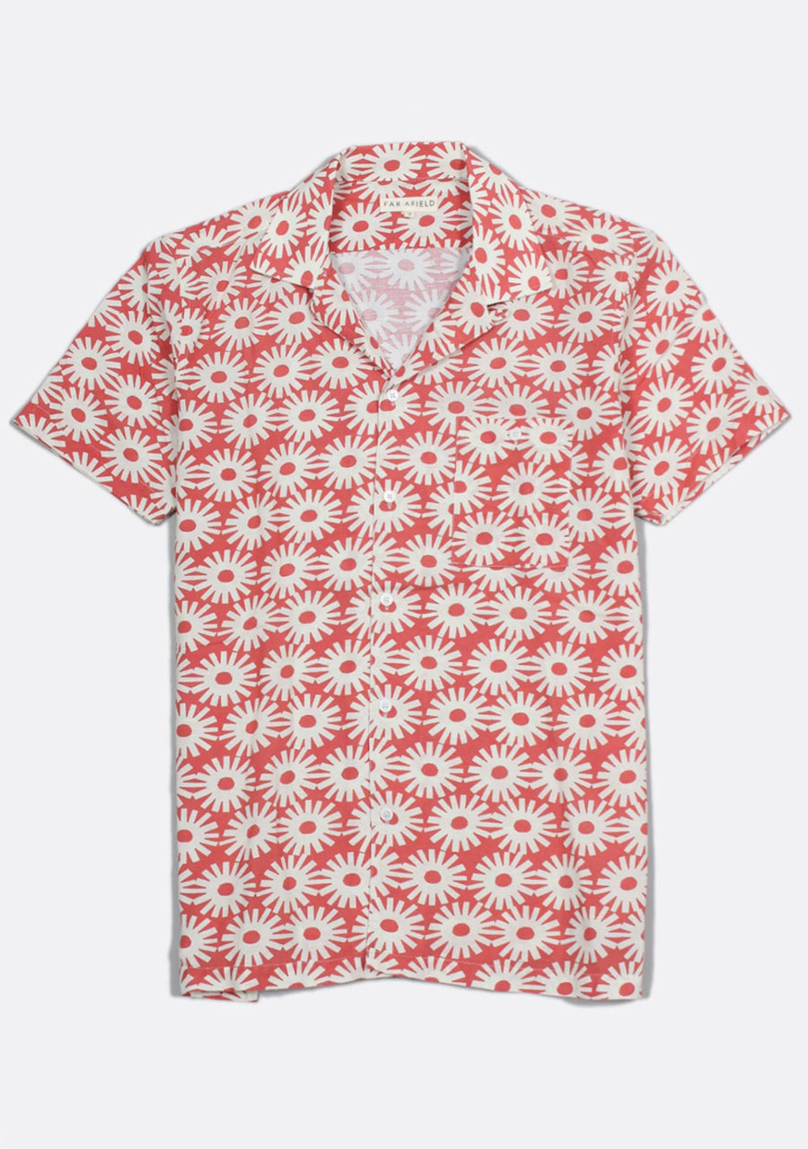 Epik Red Linen Shirt - South of London