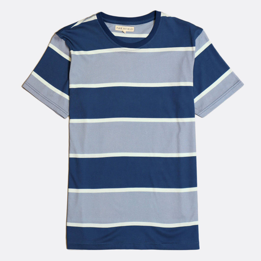 Dos Stripe Tee - South of London