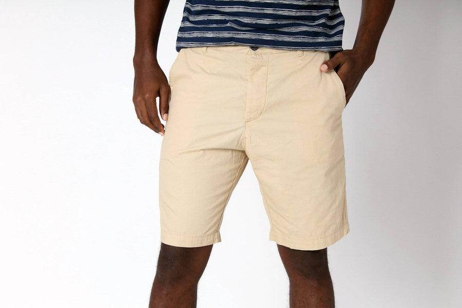 Khaki Chino Shorts - South of London