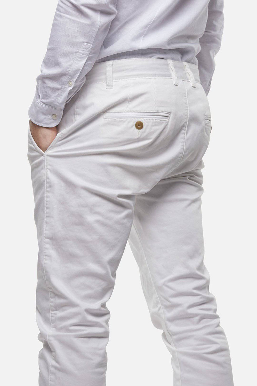 Antique White Regular Cuba Chino - South of London