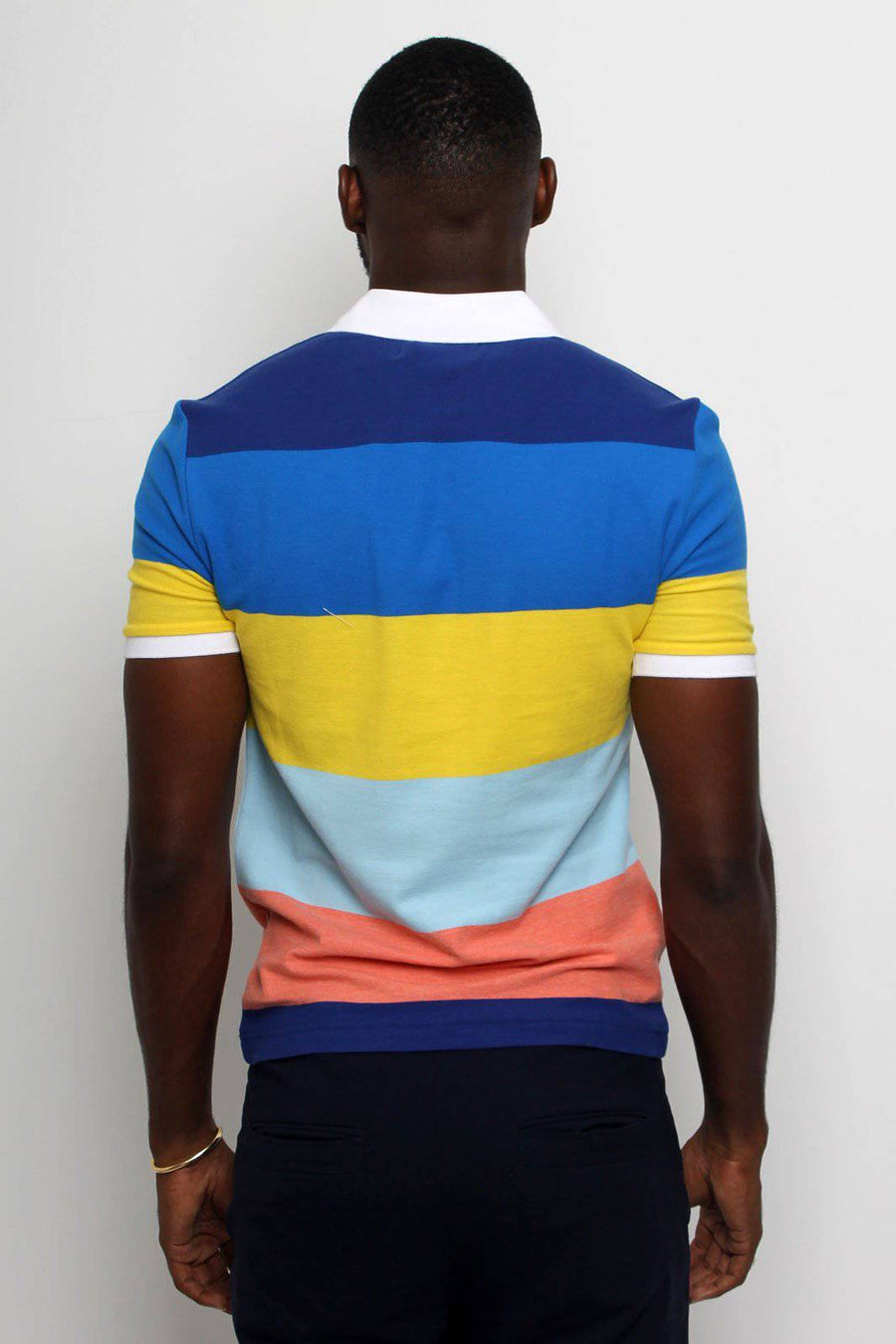 Lolipop Stripe Polo - South of London