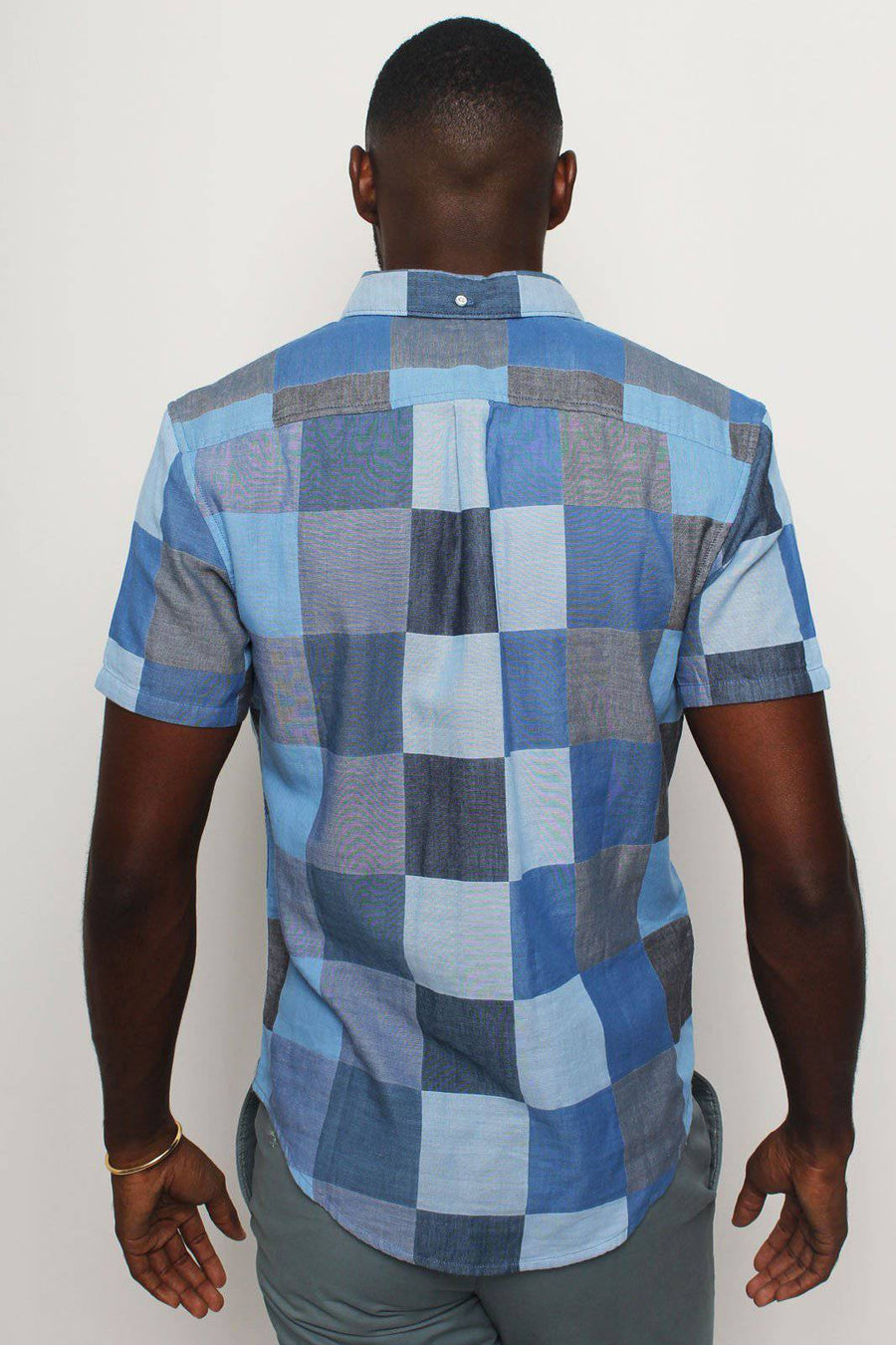 Blue Domino Shirt - South of London