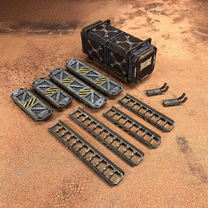 Sector Meritas Container (Ladders & Catwalks) Add-On
