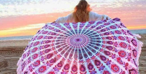 CaliBling Beach Towels, Rounds & Throws