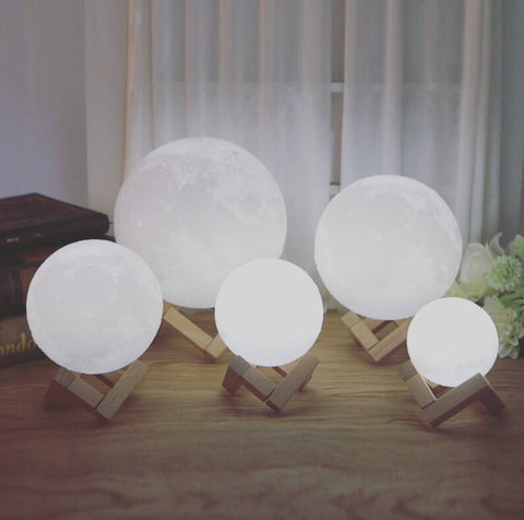 Midnight Madness 3D Moon Lamp