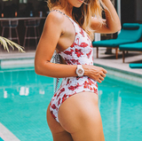 CaliBLING Flamingo Free To Fly One-piece Swimwear