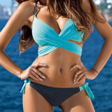 CaliBLING Crossover Bikini Set Swimwear