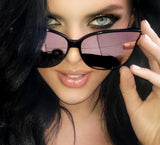 Calibling oversized cat eye sunglasses