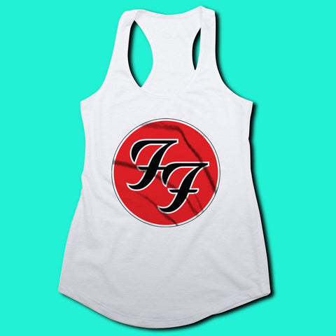 bb9edc00b3845 ... Foo Fighter Dave Grohl Rock Band Women S Tank Top