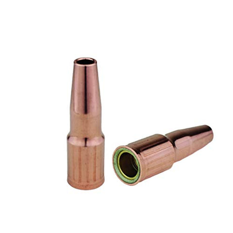 MIG Nozzles - Replacement for Lincoln/Magnum 200 to 400 and Tweco #2 to #4 Guns - Model: 23 - Threaded - Flush Tip