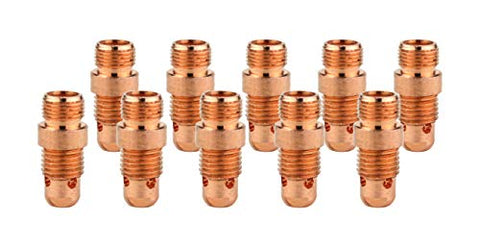Collet Body for TIG Welding Torches Series Series 17/18/26 with Stubby Set-Up