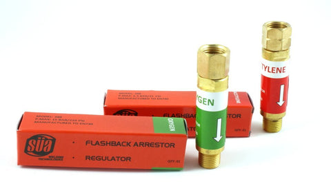 288 Flashback Arrestor - Regulator - Oxygen/Acetylene (PAIR)
