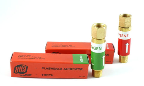 188 Flashback Arrestor - Torch - Oxygen/Acetylene (PAIR)