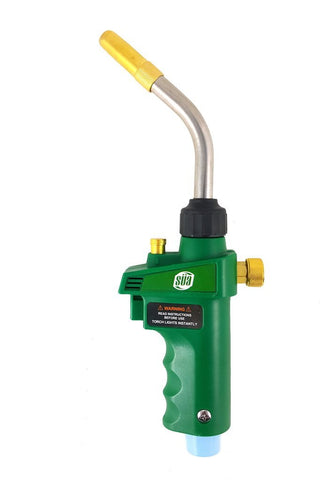 SÜA - MAPP or Propane Adjustable Brazing and Soldering Self Igniting Torch - Green