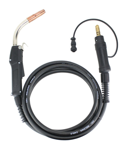 250 Amp MIG Gun compatible with Lincoln / Tweco, 12 Feet Cable, Two-Pin Signal