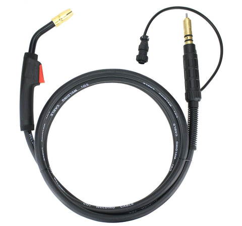 150 Amp MIG Gun compatible with Miller/Hobart, 12 Feet Cable , Two-Pin Signal