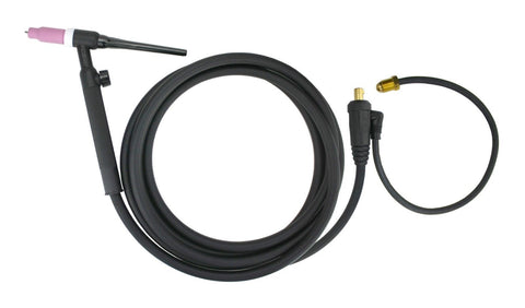 17V Series - 150 Amp - Air Cooled - TIG Torch - 1-Piece Cable - Dinse Connector