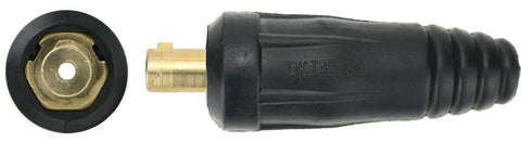 "Dinse 35-70 INLINE Gas, with 3/8"" Connection for 9 and 17 Series TIG Torch Cable"