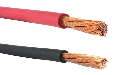 Red #4 AWG Flex-A-Prene® Welding//Battery Cable Made in USA 25 FEET