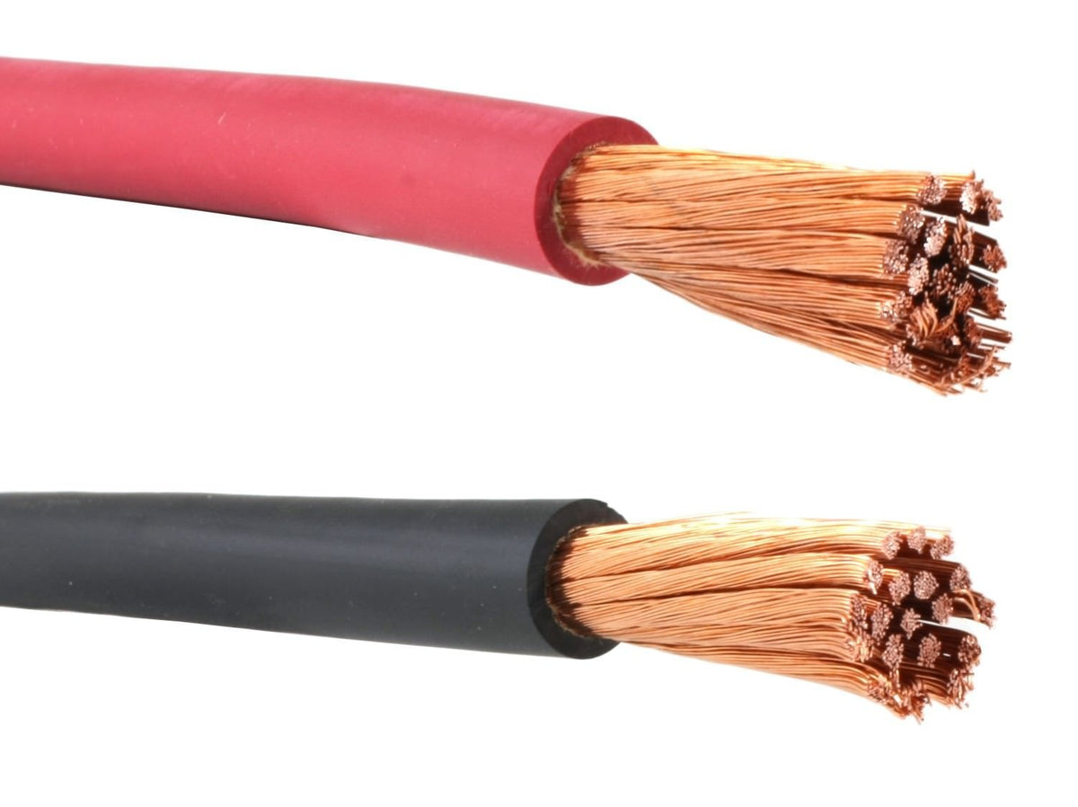 WELDING CABLE 1//0 BLACK 200/' FT BATTERY LEADS USA NEW Gauge Copper AWG