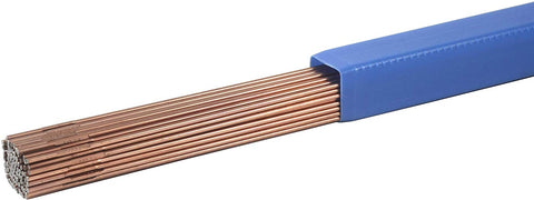 SÜA - RG-60 Copper Coated - Oxy-Acetylene Carbon Steel Welding Rod (R60) - 36""