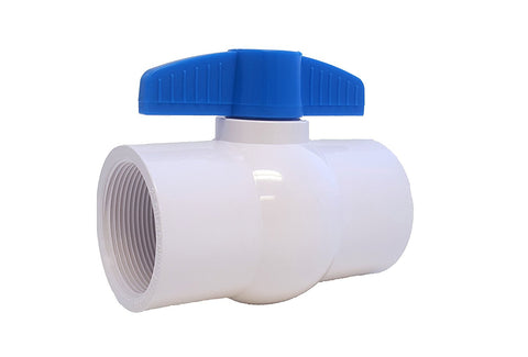 "PVC COMPACT BALL VALVE - 2"" - Threaded - Sanipro"