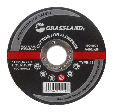 "Cutting Disc, Aluminum Freehand Cut-off wheel - 4-1/2"" x 1/16"" x 7/8"" - T41"