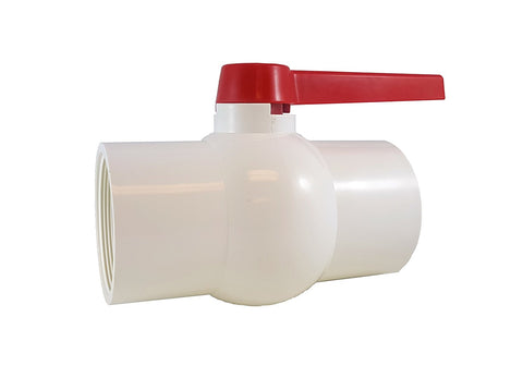 "PVC COMPACT BALL VALVE - 4"" - Threaded - Sanipro"