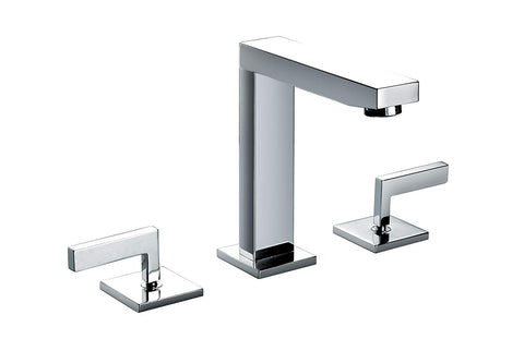 Sanipro Modern Two-lever basin mixer deck mounted faucet - Series: Enceladus