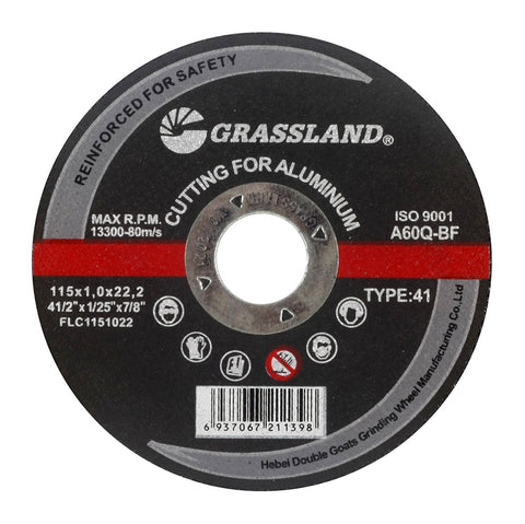 "Cutting Disc, Aluminum Freehand Cut-off wheel - 4-1/2"" x 0.04"" x 7/8"" - T41"