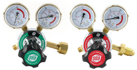 SÜA Oxyfuel Gas Regulator - Welding Gas Gauges - 25HX Series