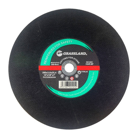 "Cutting Disc, Concrete/Masonry/Stone Cut-off Wheel for Chop Saw - 14"" x 1/8"" x 1"" - T41"