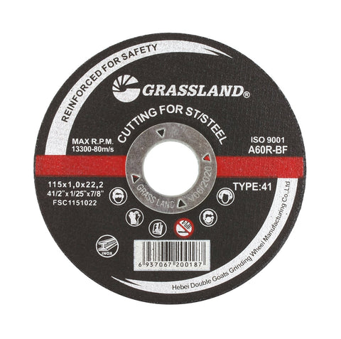 "Cutting Disc, Stainless Steel Freehand Cut-off wheel - 4-1/2"" x 0.04"" x 7/8"" - T41"