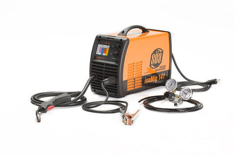 SÜA ionMig 141 Inverter IGBT MIG Welding Machine - 110 Volts - Uses 10 Lbs Wire