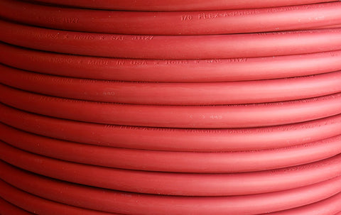 100 Foot of #2 Direct Flex-A-Prene Welding Cable Made In USA