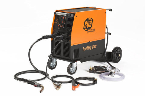 SÜA ionMig 250 IGBT MIG Welding Machine 220 V FLUX CORED/Lift TIG/STICK